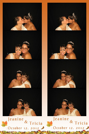 Jeanine and Tricia October 12, 2012
