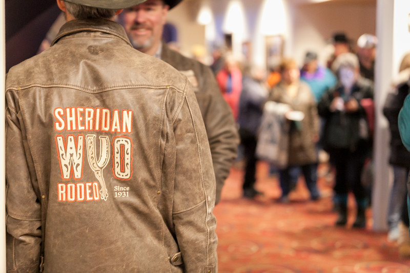 Tibby McDowell | The Sheridan Press<br /> WYO Rodeo staff was on hand for early morning ticket sales at the WYO Theater box office Friday, March 2, 2018.