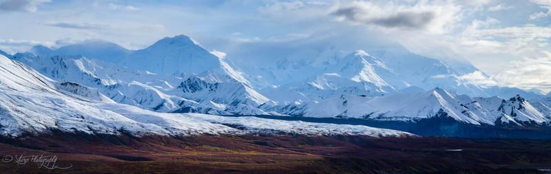 Red Tundra - Alaska Range, Denali NP, AK
