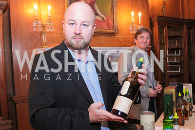 Ewan A. Morgan. Photo by Alfredo Flores. Whiskies of the World Premium to Luxury. The Washington Club. June 21, 2011