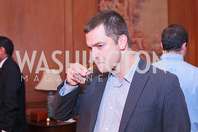 WIll Handsfield. Photo by Alfredo Flores. Whiskies of the World Premium to Luxury. The Washington Club. June 21, 2011