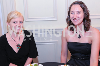 Jenn Todd, Jen Hughes. Photo by Alfredo Flores. Whiskies of the World Premium to Luxury. The Washington Club. June 21, 2011