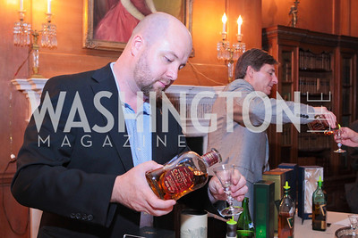 Photo by Alfredo Flores. Whiskies of the World Premium to Luxury. The Washington Club. June 21, 2011