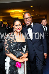 Karen Finney, Jonathan Capehart. WHCD Pre Parties. Photo © Tony Powell. April 30, 2011