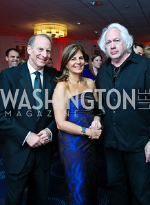 Richard Haass and Susan Mercandetti, Leon Wieseltier. WWHCD Pre Parties. Photo © Tony Powell. April 30, 2011