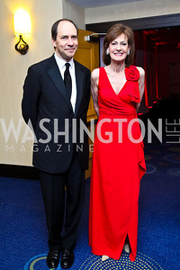 Marcus Brauchli, Lally Weymouth. WHCD Pre Parties. Photo © Tony Powell. April 30, 2011