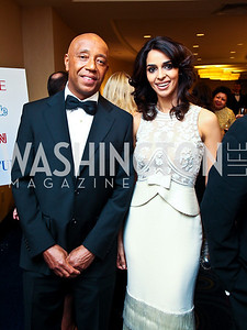 Russell Simmons, Bollywood star Mallika Sherawat. WHCD Pre Parties. Photo © Tony Powell. April 30, 2011
