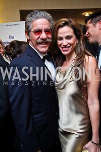 Geraldo and Erica Rivera. WHCD Pre Parties. Photo © Tony Powell. April 30, 2011