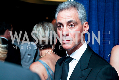 Chicago Mayor Rahm Emanuel. WHCD Pre Parties. Photo © Tony Powell. April 30, 2011