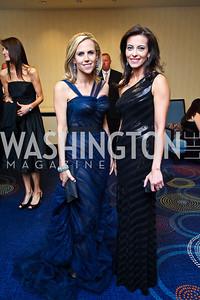Tory Burch, Dina Habib Powell. WHCD Pre Parties. Photo © Tony Powell. April 30, 2011