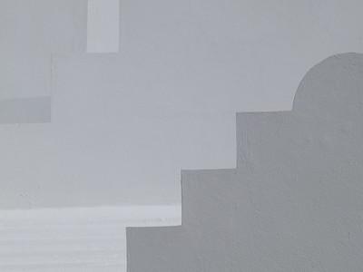 White-on-White Bermuda