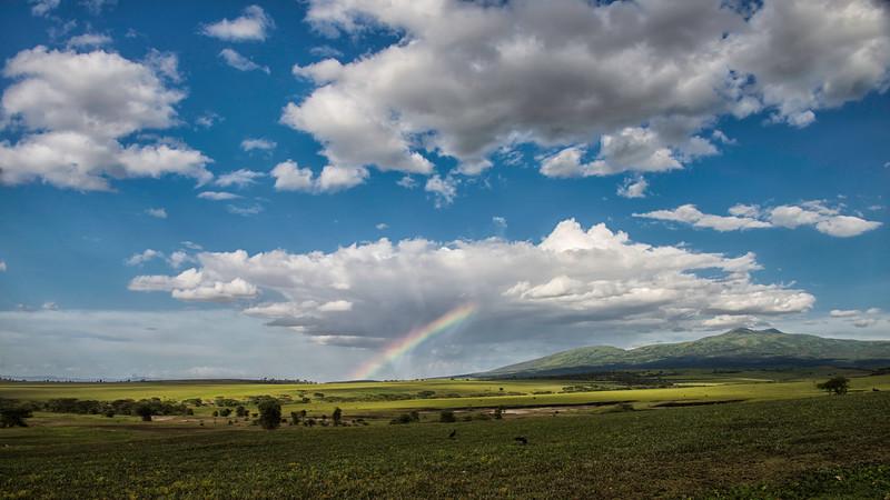 crater rainbow