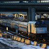 Downeaster 694 arrives in Boston with extra equipment.