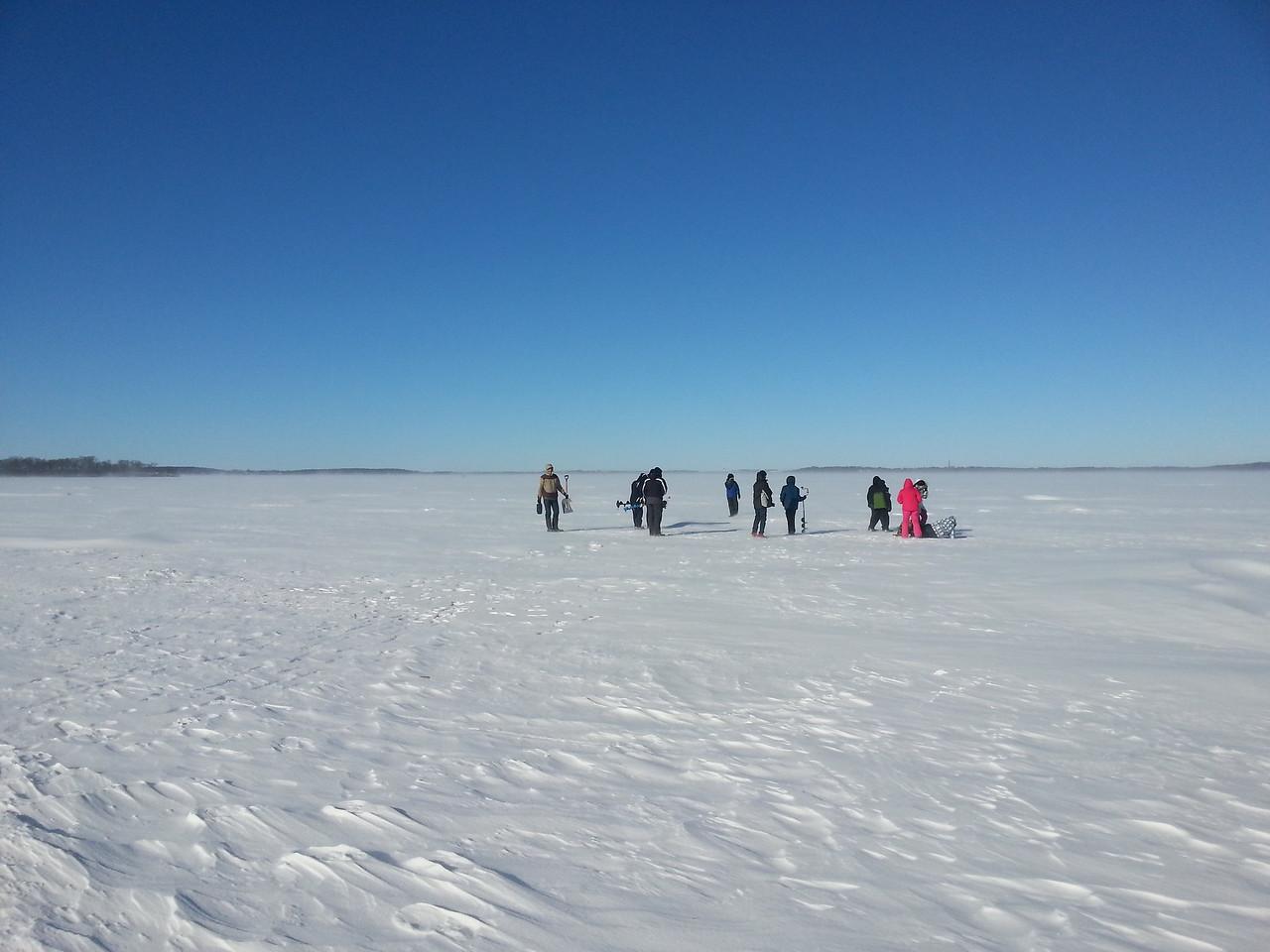 Winter Limnology - 2014