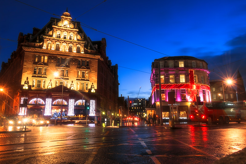 Lights on Princes Street