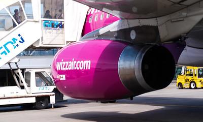 Wizz Airplanes in Gdansk 028