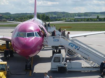 Wizz Airplanes in Gdansk 023