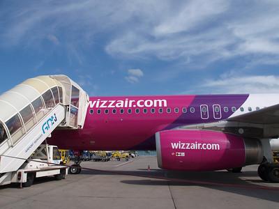 Wizz Airplanes in Gdansk 026