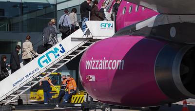 Wizz Airplanes in Gdansk 007