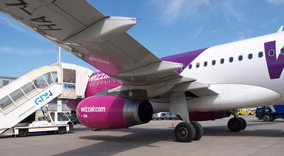 Wizz Airplanes in Gdansk 027