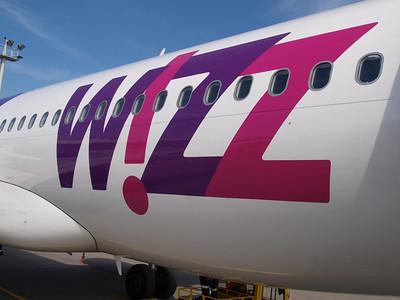 Wizz Airplanes in Gdansk 002