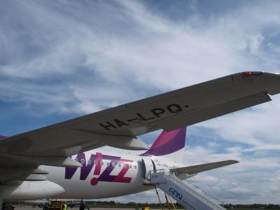 Wizz Airplanes in Gdansk 025