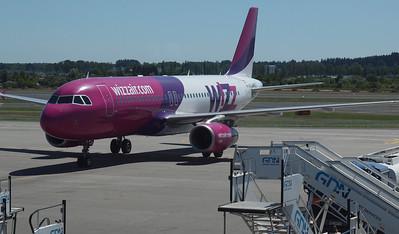 Wizz Airplanes in Gdansk 013
