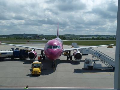 Wizz Airplanes in Gdansk 021