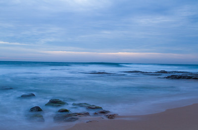 Wollongong beach at sunrise