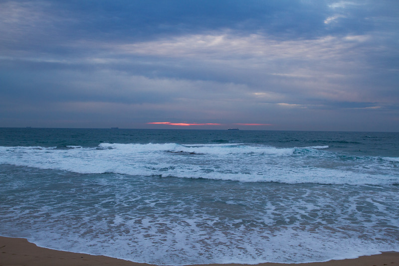 Wollongong coast at sunrise