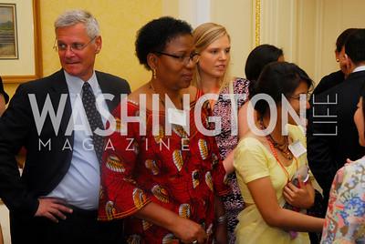 Amb. Peter Takso Jensen, Amb. Amelia Sumbanc, Women Ambassador's Round Table and Young Women's Leadership Summit, July 20, 2011, Kyle Samperton