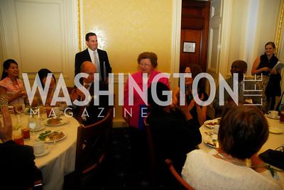 Senator Barbara Mikulski, Women Ambassador's Round Table and Young Women's Leadership Summit, July 20, 2011, Kyle Samperton