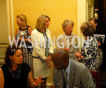 Amb. Elisabeth Bagley, Jane Harman, Women Ambassador's Round Table and Young Women's Leadership Summit, July 20, 2011, Kyle Samperton