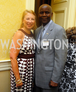 Mary Schnack, Amb. Elkanah Odembo, Women Ambassador's Round Table and Young Women's Leadership Summit, July 20, 2011, Kyle Samperton