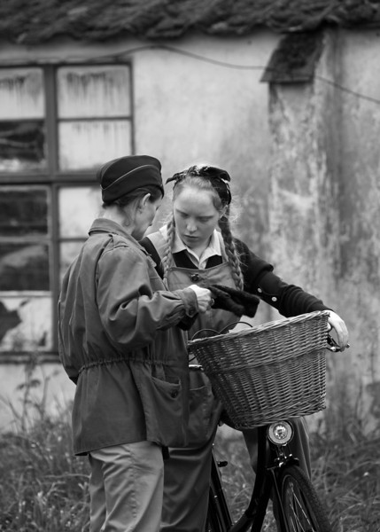 Land Girls B&W