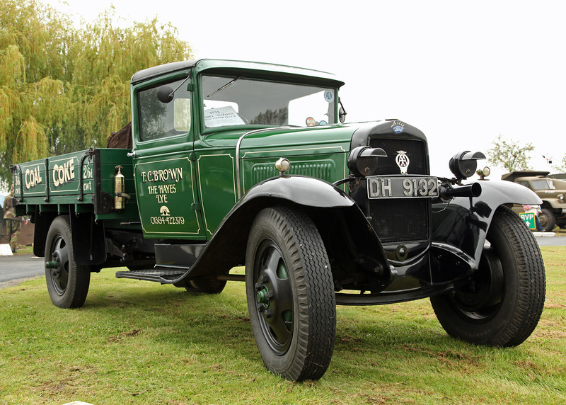 Ford Model 'A' 1 ton truck (FC Brown Coal and coke)