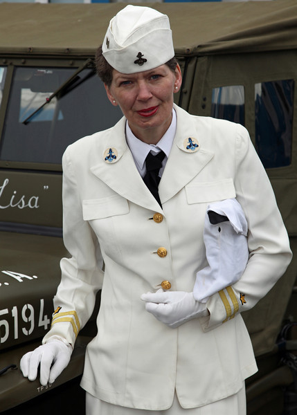 Female Navy Officer