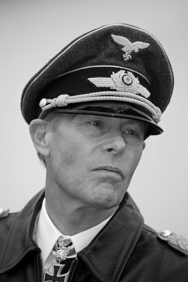 German Officer [B&W]