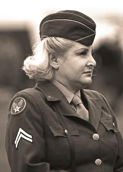 Female Corporal (Sepia)