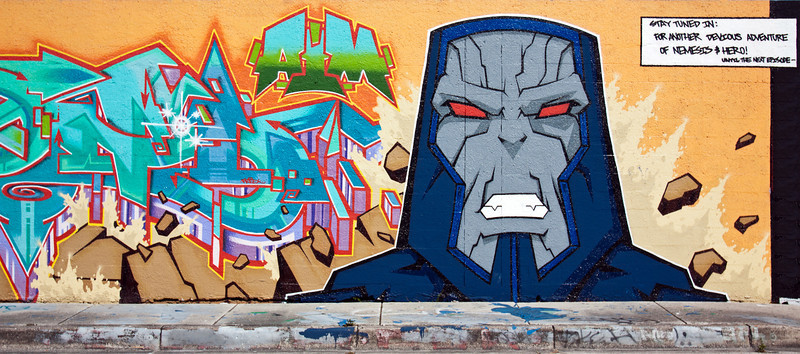 """Nemesis""<br /> Wynwood Walls<br /> Miami, Florida"
