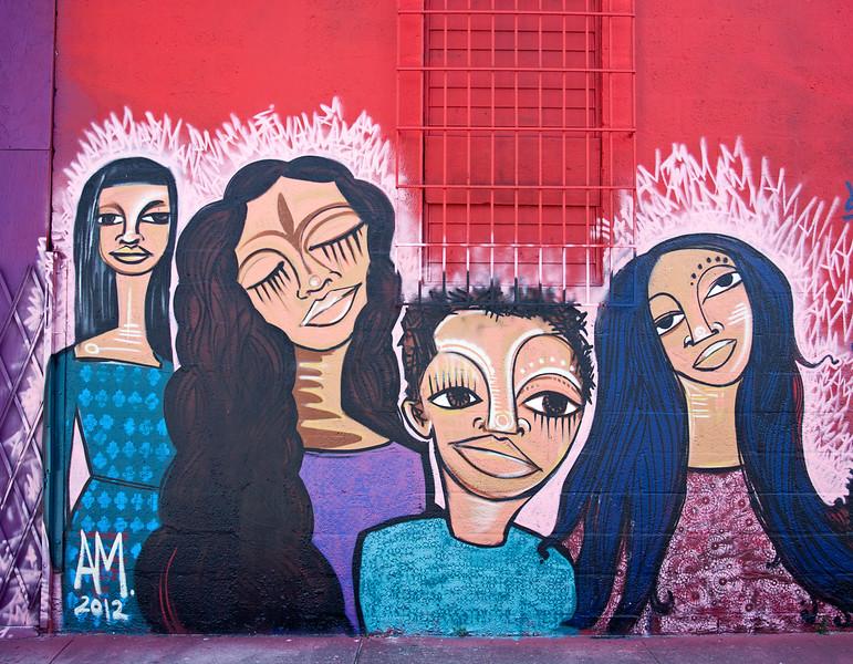"""Mother's Pride""<br /> Wynwood Walls<br /> Miami, Florida"