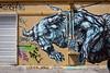 """""""Blue Bull""""<br /> Wynwood Walls<br /> Miami, Florida"""