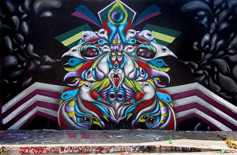 """""""Symmetrical Birds""""<br /> Wynwood Walls<br /> Miami, Florida"""