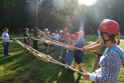 YOG Covecrest Ropes Course