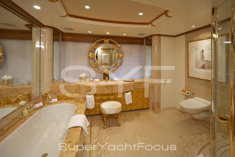 Superyacht interior