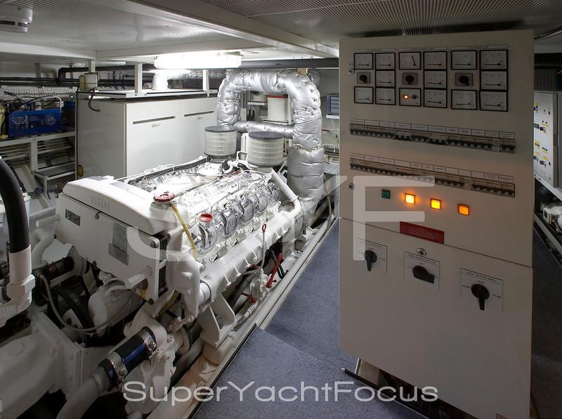 Black Molly, engine room