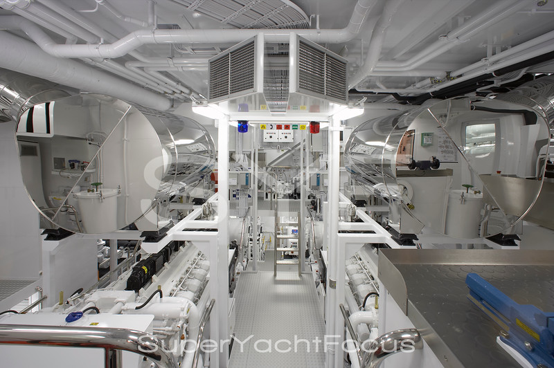 Callisto engine room