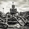 """Oil Well During Fracking, from the series """"The Bakken."""""""