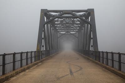 Taemas Bridge in the Fog