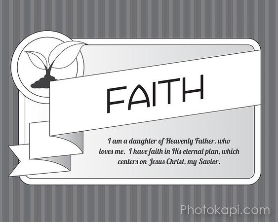Faith - 8x10